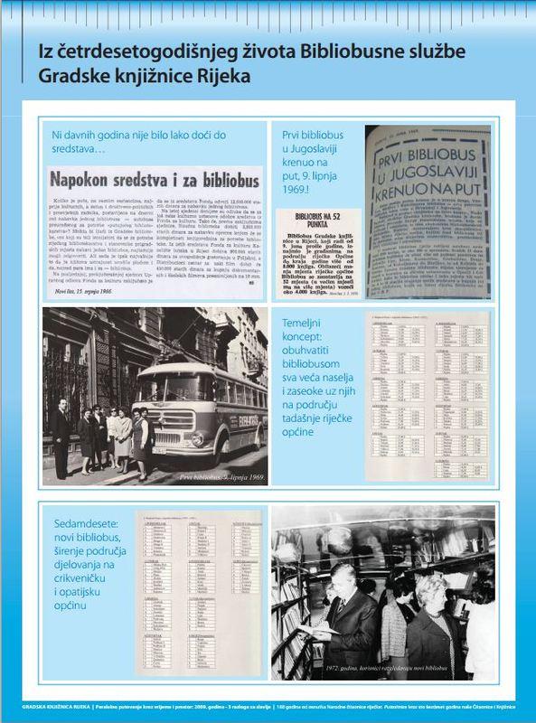 Iz četrdesetgodišnjeg života Bibliobusne službe Gradske knjižnice Rijeka