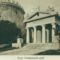Trsat, Frankopanski grad