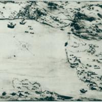 Riječki zaljev. Karta iz 1586.