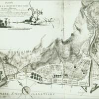 Plann der K.K. Seestadt und Porto Franco Fiume