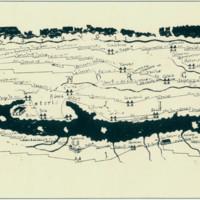 Tabula Peutingeriana. Detalj. Srednjovjekovna kopija rimskog itinerara iz III. st. n. e.
